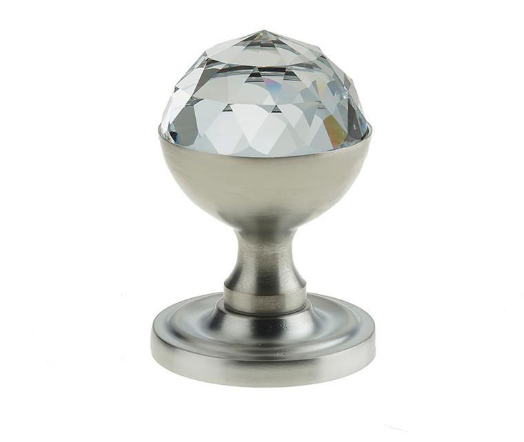 Swarovski Crystal Mortice Knob Set