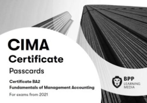BPP CIMA BA2 Fundamentals of Management Accounting Passcards