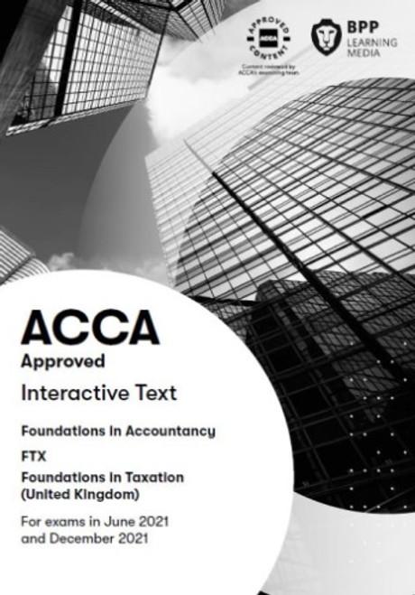 BPP FIA Foundations in Taxation (FTX) (FA 2018) (UK) Interactive Text