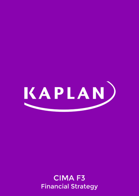Kaplan CIMA F3 Financial Strategy Study Text