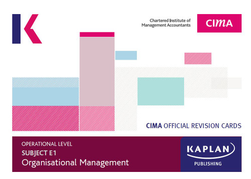 Kaplan CIMA E1 Managing Finance In A Digital World Revision Cards
