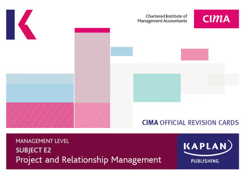 Kaplan CIMA E2 Managing Performance Revision Cards