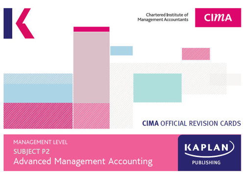 Kaplan CIMA P2 Advanced Management Accounting 2021 Revision Cards