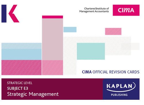 Kaplan CIMA E3 Strategic Management Revision Cards