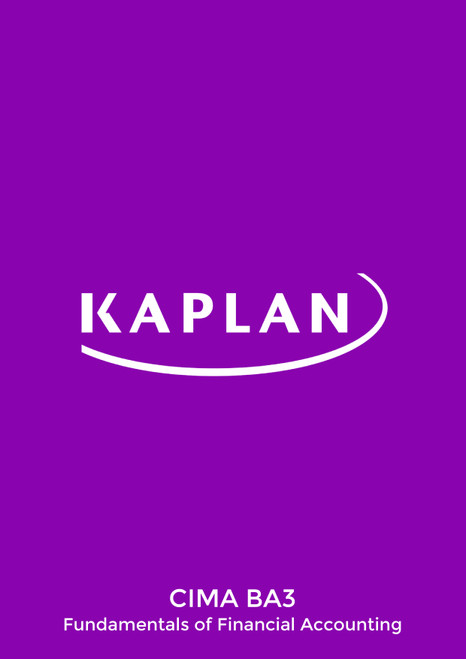 Kaplan CIMA BA3 Fundamentals of Financial Accounting Revision Cards