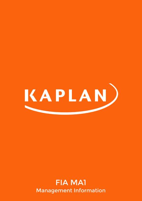Kaplan FIA Management Information (MA1) Exam Kit