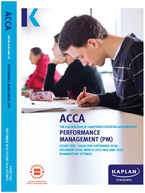 Kaplan ACCA PM (F5) Performance Management Study Text