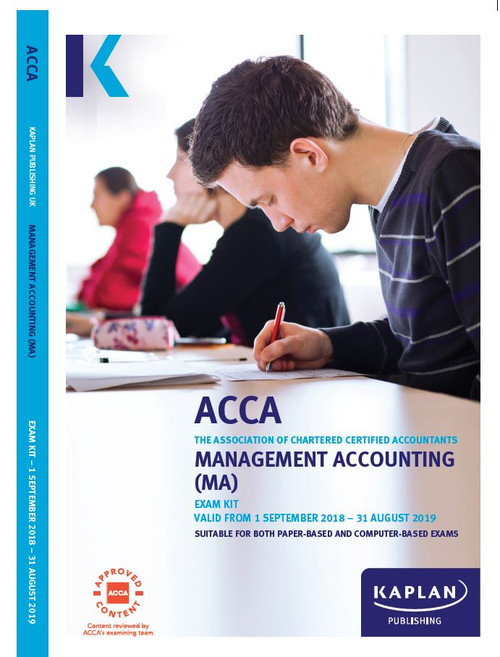 Kaplan ACCA MA (F2) Management Accounting Exam Kit