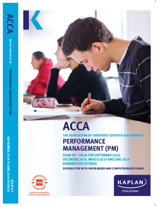 Kaplan ACCA PM (F5) Performance Management Exam Kit