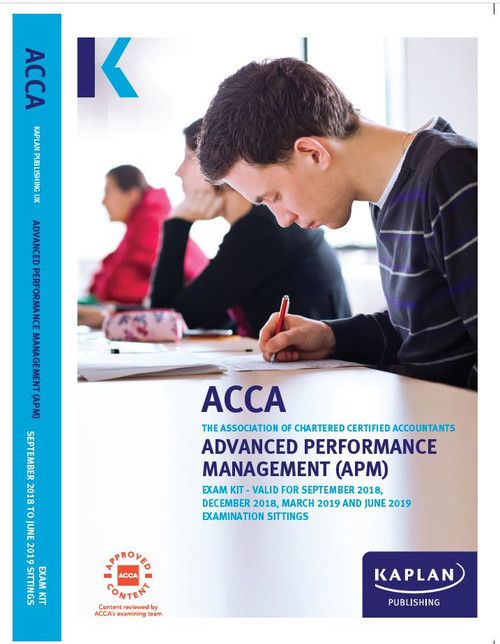 Kaplan ACCA APM (P5) Advanced Performance Management Exam Kit