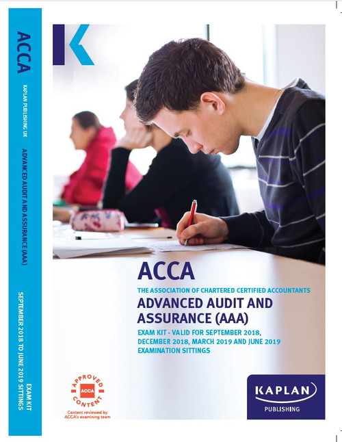 Kaplan ACCA AAA (P7) Advanced Audit and Assurance (UK) Exam Kit
