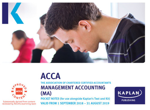 Kaplan ACCA MA (F2) Management Accounting Pocket Notes