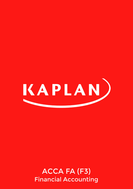 Kaplan ACCA FA (F3) Financial Accounting (INT-UK) Pocket Notes