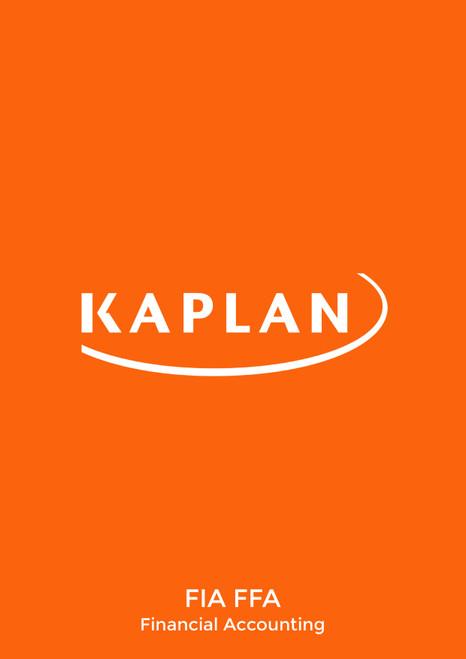 Kaplan FIA FFA Financial AccountingÊ Study text