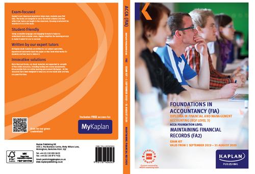 Kaplan FIA FA2 Maintaining Financial Records Exam Practice Kit
