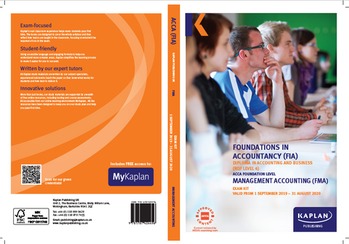 Kaplan FIA FMA Management AccountingÊ Exam Practice Kit