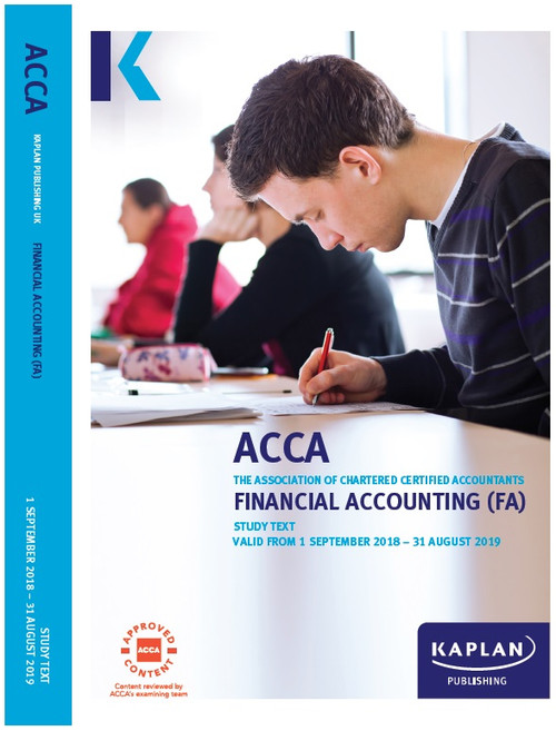 Kaplan ACCA FA (F3) Financial Accounting Study Text