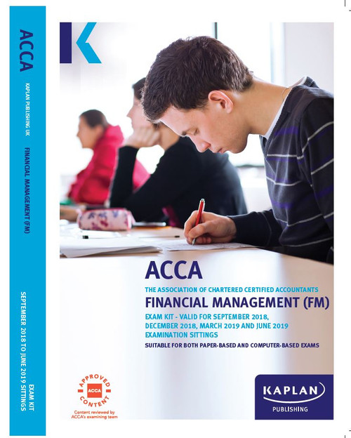 Kaplan ACCA MA (F2) Management Accounting Exam Kit.