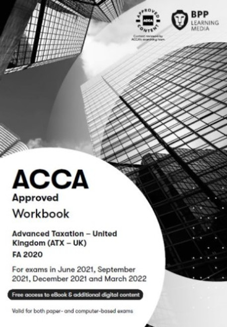BPP ACCA ATX (P6) Advanced Taxation (FA 2018) (UK) Study Text eBook