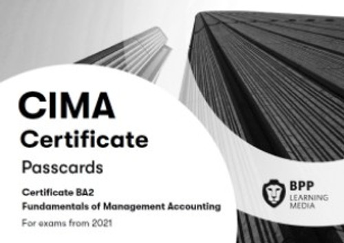 BPP CIMA BA2 Fundamentals of Management Accounting Passcards eBook