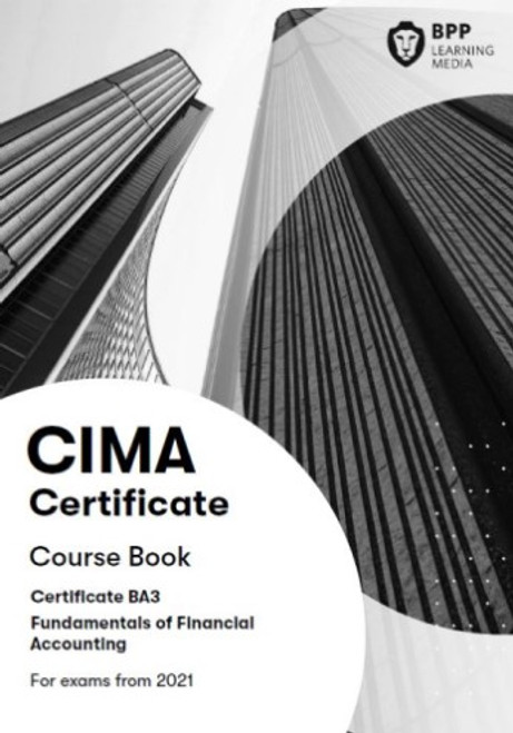 BPP CIMA BA3 Fundamentals of Financial Accounting Course Book eBook