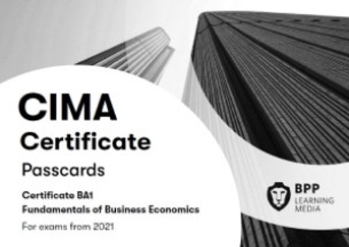 BPP CIMA BA1 Fundamentals of Business Economics Passcards eBook
