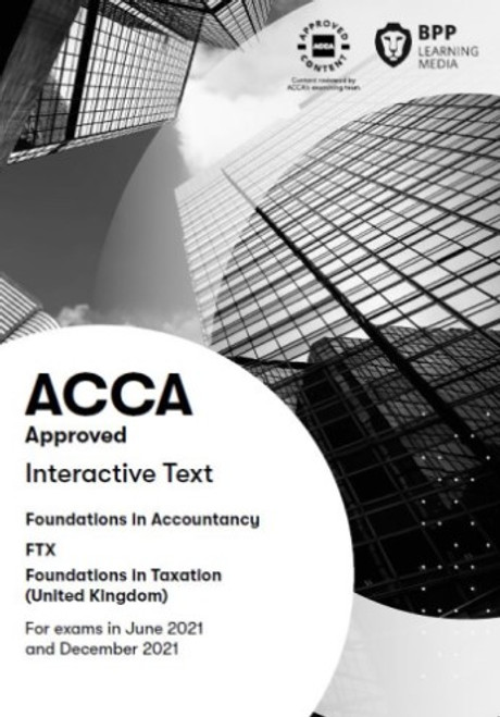 BPP FIA Foundations in Taxation (FTX) (FA 2018) (UK) Interactive Text eBook