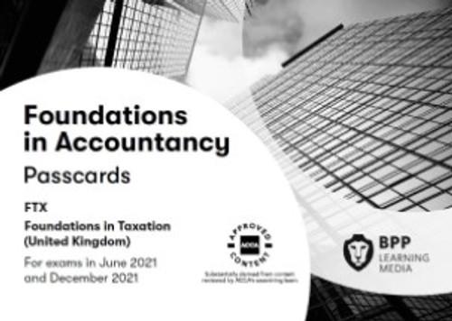 BPP FIA Foundations in Taxation (FTX) (FA 2018) (UK) Passcards eBook
