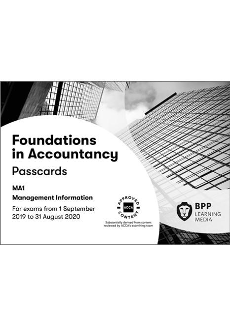 BPP FIA Management Information (MA1) Passcards eBook