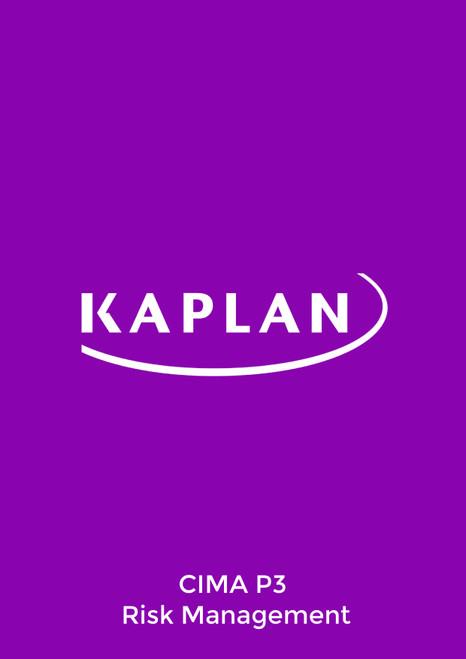 Kaplan CIMA P3 Risk Management 2021 Exam Practice Kit eBook