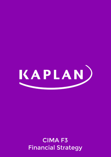 Kaplan CIMA F3 Financial Strategy Study Text eBook