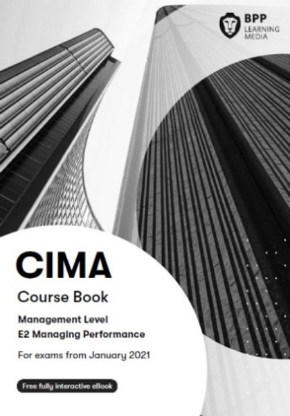 BPP CIMA E2 Managing Performance Course Book