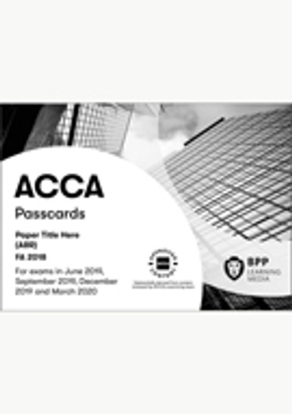 BPP FIA Maintaining Financial Records (FA2) Passcards