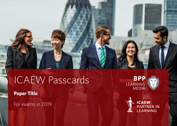 BPP ICAEW Financial Accounting & Reporting UK GAAP Passcards