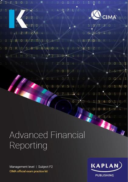 Kaplan CIMA F2 Advanced Financial Reporting Exam Practice Kit