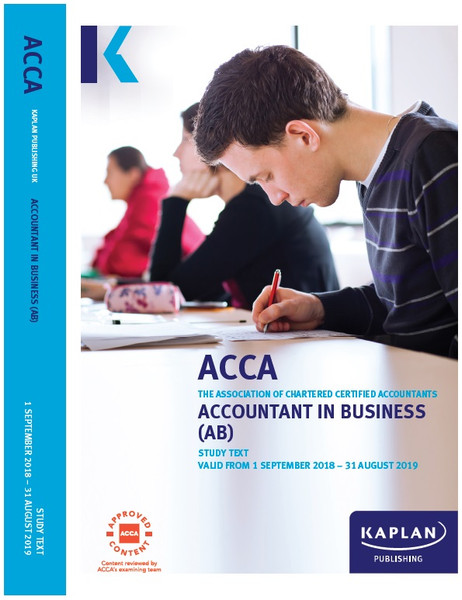 Kaplan ACCA BT (F1) Business and Technology Study Text
