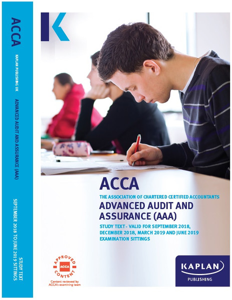 Kaplan ACCA AAA (P7) Advanced Audit and Assurance (UK) Study Text