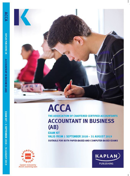 Kaplan ACCA BT(F1) Business and Technology (2021-2022) Exam Kit