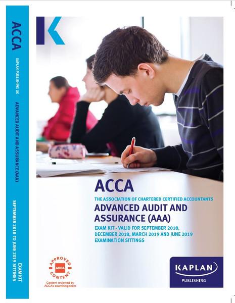 Kaplan ACCA AAA (P7) Advanced Audit and Assurance (UK) Exam Kit