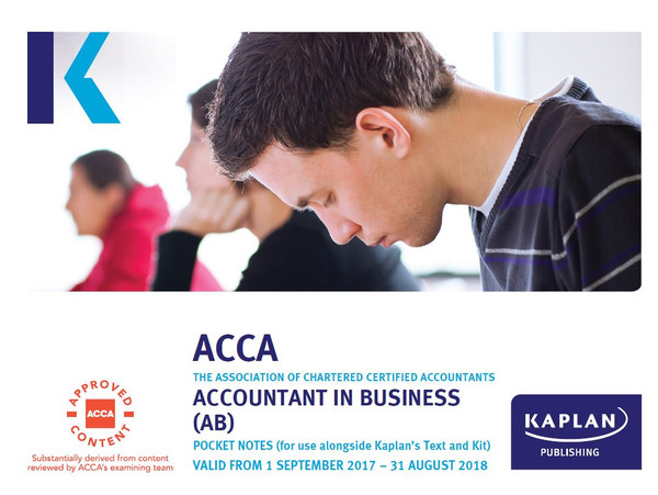 Kaplan ACCA BT (F1) Business and Technology Pocket Notes