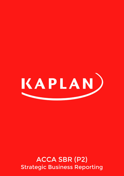 Kaplan ACCA SBR (P2) Strategic Business Reporting (INT-UK) Pocket Notes