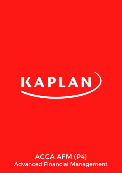 Kaplan ACCA AFM (P4) Advanced Financial Management Pocket Notes