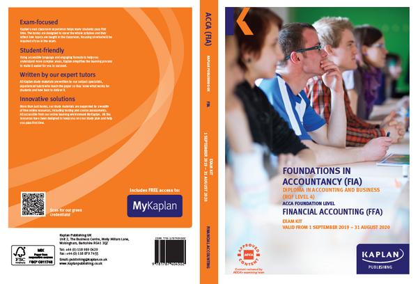 Kaplan FIA FFA Financial AccountingÊ Exam Practice Kit