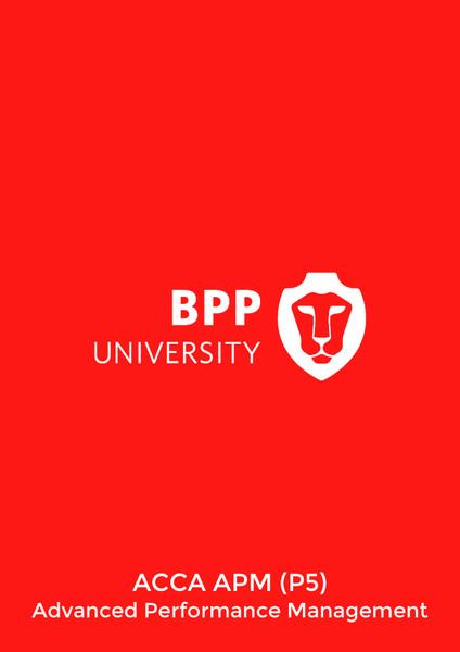 BPP ACCA APM (P5) Advanced Performance Management Workbook eBook