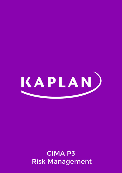 Kaplan CIMA P3 Risk Management Exam Practice Kit eBook