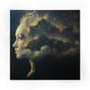 'Nebula 3.1' screen print (gold edition)
