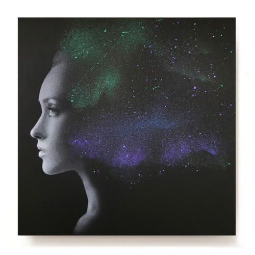 'Nebula 3.1' original painting #8/10 - *SOLD OUT*