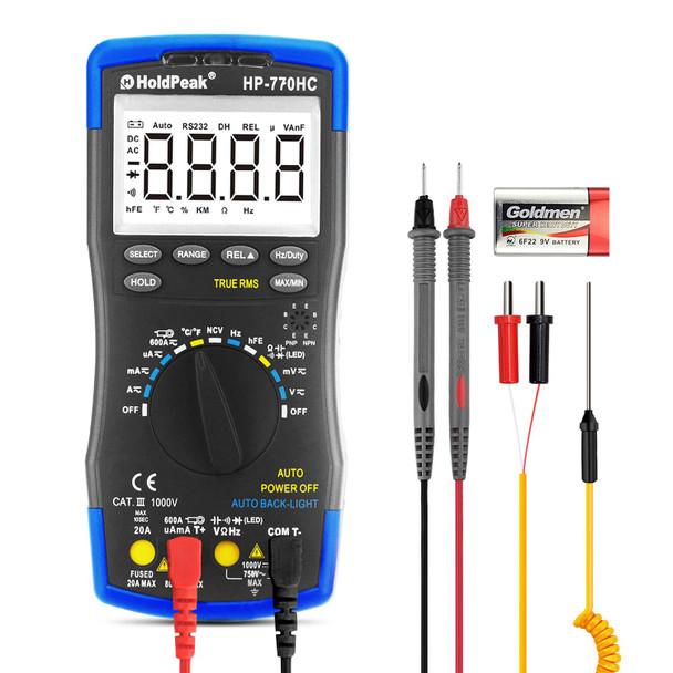 Digital Multimeter, Automatic Range Multi Meter, Resistance Tester