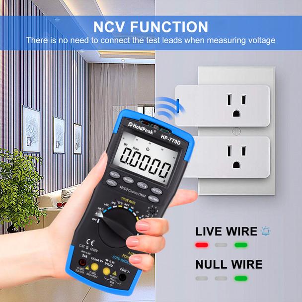 voltage tester powertest voltmeter electric tester voltage detector electricity meter digital voltmeter electrical outlet tester electrical testing tools