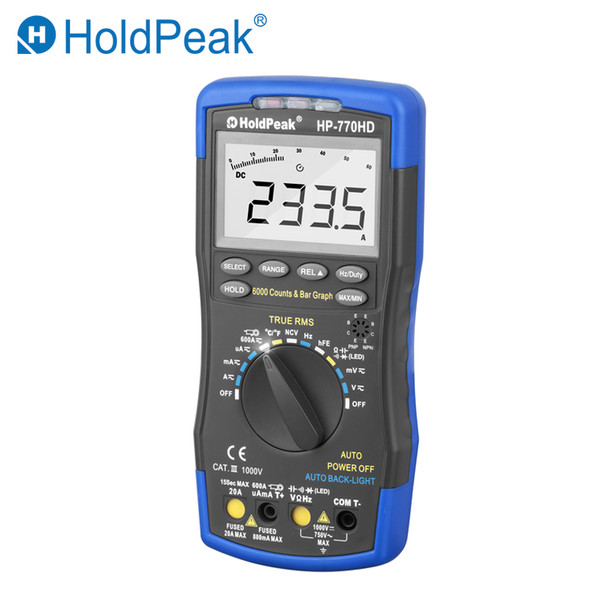 Autorange Digital Multimeter, Digital Multimeter, Multimeter, Autorange Digital Multimeter True RMS
